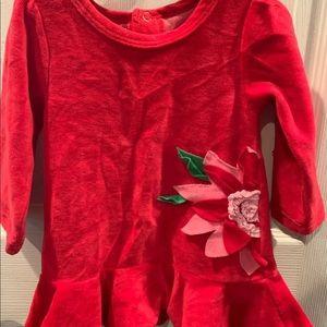 Red velvet mud pie dress